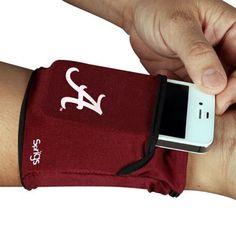 Alabama Crimson Tide Big Banjees Wrist Wallet - Crimson