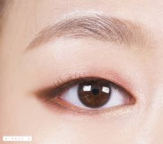 eyeshadow korean asian makeup ~ eyeshadow korean ` eyeshadow korean tutorial ` eyeshadow korean look ` eyeshadow korean style ` eyeshadow korean asian makeup Monolid Eyes, Monolid Makeup, Eye Makeup Tips, Smokey Eye Makeup, Makeup Inspo, Makeup Eyeshadow, Beauty Makeup, Eyeshadows, Makeup Brushes