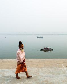 Sādhu, Varanasi, India / Lovingly pinned by The Rainbow Farmer https://www.etsy.com/shop/TheRainbowFarmer