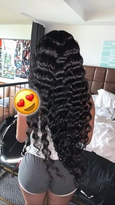 10A Brazilian Straight 3 Bundles With Lace Closure with some crimps