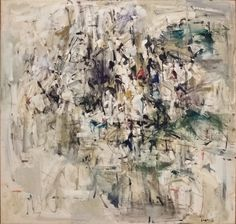 """Joan Mitchell (1925-1992) - """"Painting 1953"""" oil on canvas made in 1953 at the Walker Art Center in Minneapolis [2476 X 2354]"""