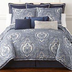 royal velvet modena 4pc comforter set