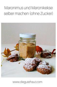 Gesunde Rezepte mit Esskastanien (Maroni) Granola Bars, Fabulous Foods, Bon Appetit, Healthy Recipes, Healthy Food, Cookies, Jam Jam, Breakfast, Desserts