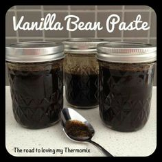 The road to loving my Thermomix: Vanilla Bean Paste Cheddarwurst Recipe, Paste Recipe, Cantaloupe Recipes, Radish Recipes, Frangipane Recipes, Mulberry Recipes, Spagetti Recipe, Gastronomia, Recipes