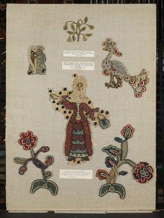 Needle Lace, British, 1600's