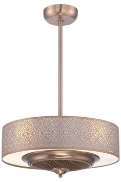 Cozette Indoor Ceiling Fan - Ceiling Fans With Lights - Modern Ceiling Fans - Contemporary Ceiling Fan   HomeDecorators.com