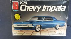 1/25 1970 409 CHEVY IMPALA  3 IN 1 OPENED KIT FOUND IN STORAGE #AMT #Chevrolet
