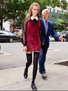dress cara delevingne burgundy velvet black dress lace dress peter pan collar