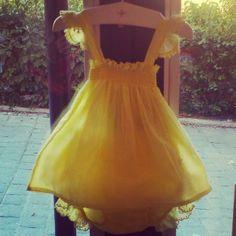 Vuelve el vestido de toda la vida, en amarillo y...