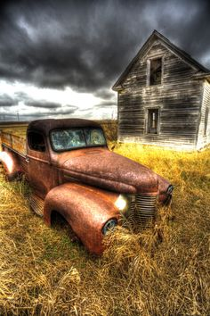North Dakota  ...old truck