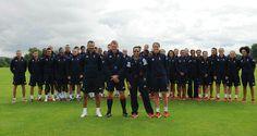 Team GB Football squads
