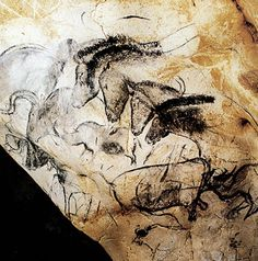 Chauvet Cave Paintings. Located in the Ardeche region of southern France. Dated to be 30,000 to 33,000 years old. Believed to be world's oldest cave paintings.