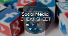 GooglePlus, Twitter, YouTube, LinkedIn - Complete Social Media Sizing Cheat Sheet - infographic