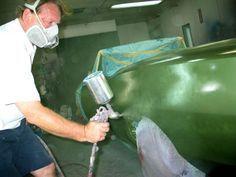 How To Paint A Car - Auto Painting Tips - Mopar Muscle Magazine Car Paint Diy, Car Paint Jobs, Diy Car, Auto Paint, Car Painting, Painting Tips, Spray Painting, Auto Body Repair, Car Repair