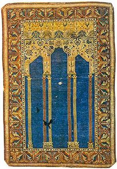 Anatolian prayer rug Late 17th or early 18th century
