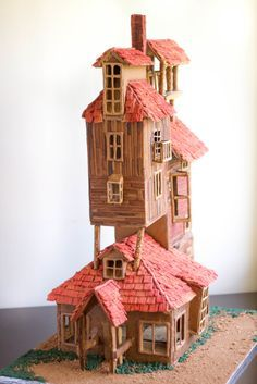 1528 Best Gingerbread Houses Images On Pinterest In 2018