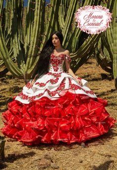 Quince Dresses Mexican, Mexican Quinceanera Dresses, Quinceanera Party, Mariachi Quinceanera Dress, Quincenera Makeup, Quinceanera Decorations, Charro Dresses, Vestido Charro, Sweet 15 Dresses