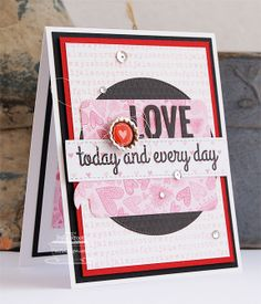 Patterned Paper: MFTWSC156, Love Today and Every Day