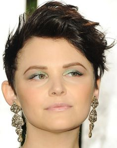 Ginnfer Goodwin, rocks this hairstyle