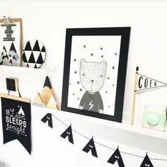 "Wild River on Instagram: ""Loving this monochrome look by the lovely @hailsk83 featuring our large timber mountain and a couple of our triangles, perfection  #handmade #shelfie #shophandmade #goldcoastdesigner #timber #timbermountains #timbertriangles #boysroom #blackandwhite #nursery #nurserydecor"""