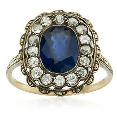 vintage sapphire ring - Google Search