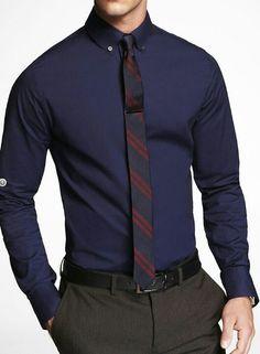 I like this, but maybe a wider tie
