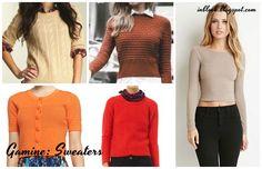 Gamine Sweaters Inblook: Чистый гамин / Gamine. Рекомендации.