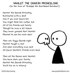 """Read at your own risk. Good Tickle Brain's """"Hamlet The Danish Princeling"""" inspired a group sing-along at the OSF company holiday party, and it's already proving rather sticky. #Shakespeare #HamletOSF #OSF2016 https://www.osfashland.org/productions/2016-plays/hamlet.aspx"""