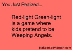 you just realized.doctor who? Fandoms, Doctor Who, Red Light Green Light, You Just Realized, Childhood Ruined, Don't Blink, Geek Out, Dr Who, Superwholock