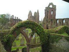 Arbroath Abbey in Scotland: http://www.europealacarte.co.uk/scotland/angus
