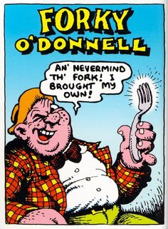 Forky O'Donnell by Robert Crumb (underground comics) Robert Crumb, Fritz The Cat, Alternative Comics, Pig Drawing, School Of Visual Arts, Comic Books Art, Book Art, O Donnell, Open Book