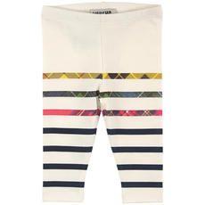 Junior Gaultier - Striped stretch jersey leggings - 81913