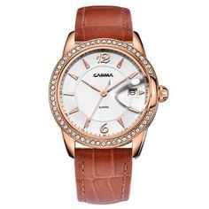 Fashion luxury brand watches women Fashion Casual crystal Dial womens Quartz wrist watch Waterproof relogio feminino CASIMA#2631