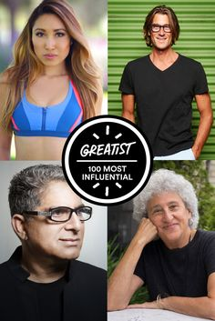 The 100 Most Influential People in Health and Fitness #health #fitness #people #experts http://greatist.com/health/most-influential-health-fitness-people
