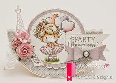 Handmade by Tamara: C.C. Designs April release