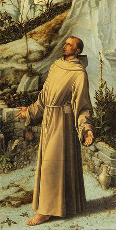Giovanni Bellini, Saint François dans le désert http://casaprints.com/fr/13-reproductions-de-tableaux-de-giovanni-bellini