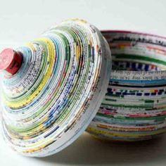 BricoBlog   1000 Manualidades reciclando papel – Vol. I   https://www.bricoblog.eu