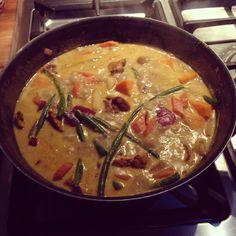 Homemade Vietnamese Curry - Ca Ri Ga