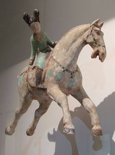 Tang dynasty, polo player