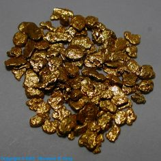 "Gold Nuggets ~ 0.1"" ~ 90% pure"