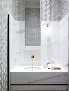 Contemporary Powder Room Features Walls Clad In Harlequin . Traditional Bathroom With Fun Wallpaper HGTV. White Bathroom HD Desktop Wallpaper For Ultra HD TV . Home and Family White Bathroom, Bathroom Interior, Modern Bathroom, Small Bathrooms, Cream Bathroom, Bathroom Marble, Marble Bath, Vanity Bathroom, Marble Tiles