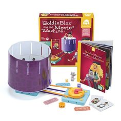 GoldieBlox and the Movie Machine *** You can get more details by clicking on the image. Note:It is Affiliate Link to Amazon.