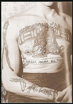 A vintage tattoo beauty #tattoo