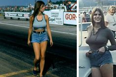 Photos From The That Are Sure to Cause Nostalgia Funny Car Drag Racing, Nhra Drag Racing, Funny Cars, Trucks And Girls, Car Girls, Jungle Jim Liberman, Pam Hardy, Linda Vaughn, Jungle Jim's