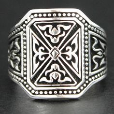 925 Sterling Silver Men's Ring Excellent Design and Perfect Finishing