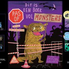 Dit is een boek vol monsters - Guido van Genechten Scary, Creepy, Album Jeunesse, This Is A Book, Reading Resources, Lectures, Book Crafts, Craft Books, Halloween