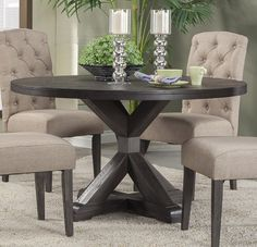 Amazon.com - Dining Table in Dark Brown - Tables
