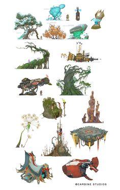 Cory Loftis: mais artes do game Wildstar   THECAB - The Concept Art Blog