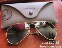 #Rayban #rayban #RayBanSunglassesRAY BAN Sunglasses! love this site!#$12.99 holy cow, I'm in love with this site.