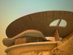 """Arango House"" by John Lautner architect. ~ Lautner! one of my favorites! so Jetsons!"